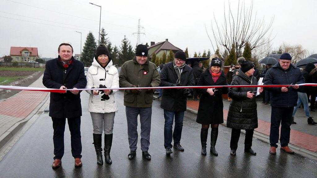 Otwarcie ulicy Zajęczej w Jarocinie