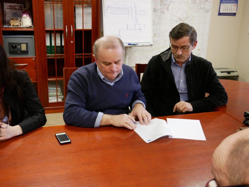 Przekazanie placu budowy pod modernizację oczyszczalni ścieków w Cielczy