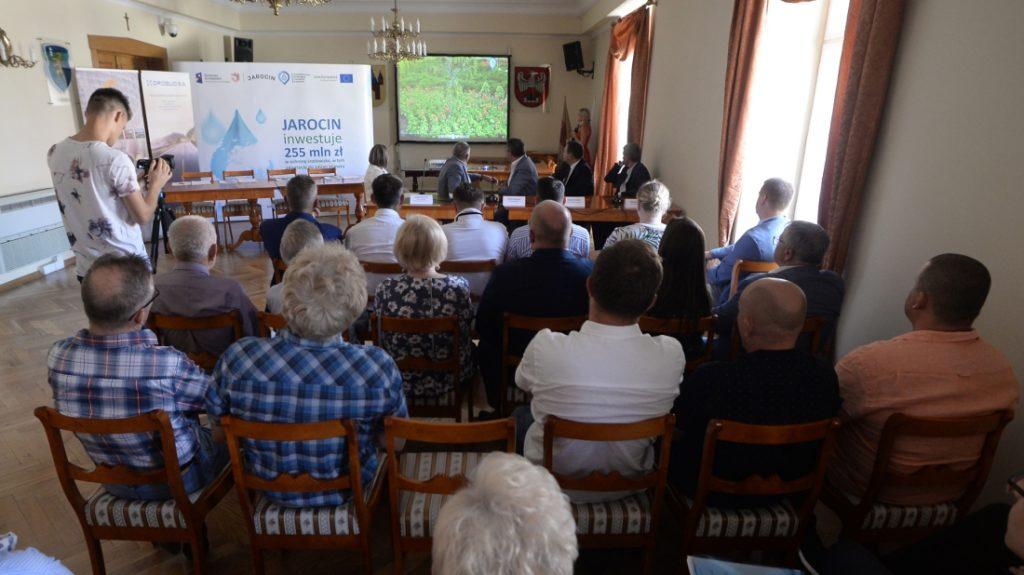 Podpisanie umowy na rewitalizację śródmieścia Jarocina
