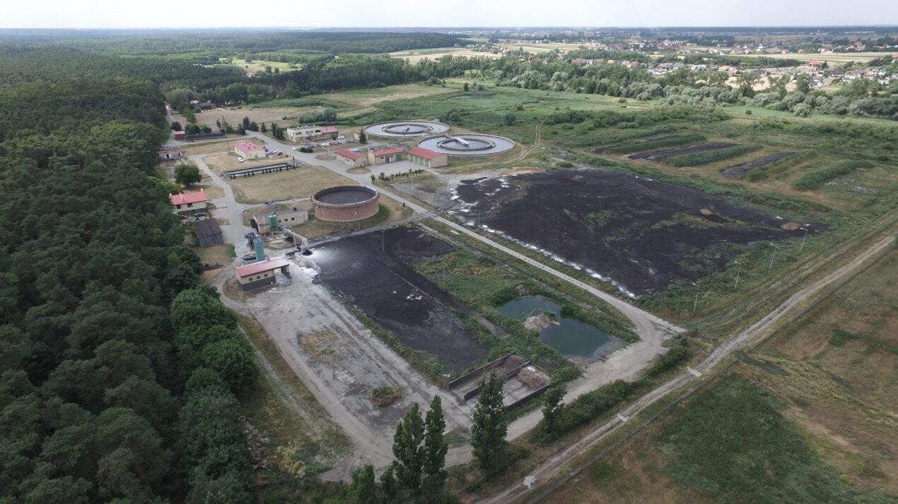 Prace modernizacyjne oczyszczalni ścieków w Jarocinie