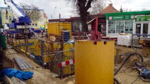 Budowa zbiornika retencyjnego w ul. Wolności